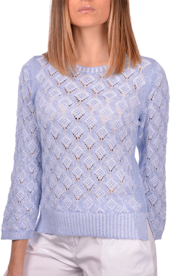 Picture of DIAMOND-SHAPED PATTERN CREW NECK
