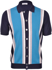 Picture of STRIPED KNIT POLO SHIRT