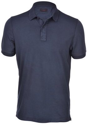 Picture of JERSEY VINTAGE POLO WITH DENIM PROFILE