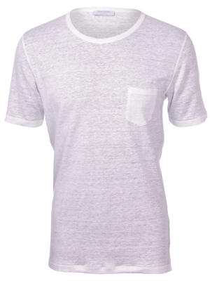 Picture of LINEN T-SHIRT WITH POCKET