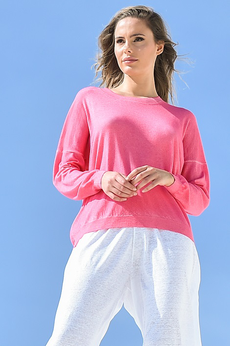Girocollo in cashmere Vintage